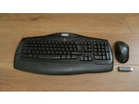 Logitech wireless keyboard and mouse set