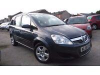 2008 Vauxhall Zafira 1.6 i 16v Exclusiv 5dr, 3 Months Warranty & 12 Months Breakdown, £1,795