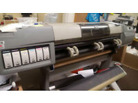 hp5000 large format printer