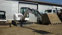 EXCAVATOR / TRACK LOADER  RENTALS / ALSO CONCRETE FORMS