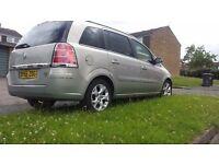 Vauxhall zafira auto diesel 06