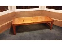 For sale wooden bench 143cm long x 43cm deep - Glasgow £10