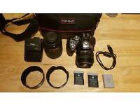 Nikon D5300 Bundle. Mint Condition. Nikkor 18-140mm + Nikkor 50mm + Extras