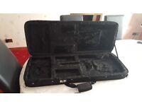 Semi rigid guitar case