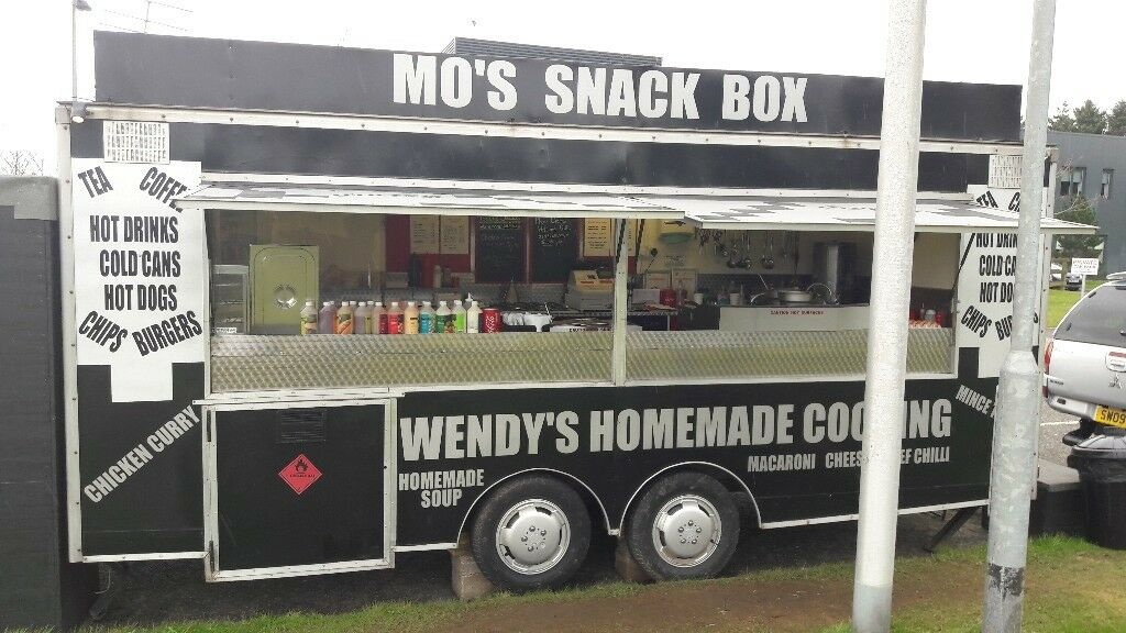 18ft x 7ft Catering Trailer/Burger Van