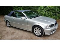 2003 03 BMW 316 Convertible for sale