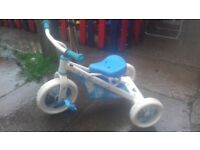 kids disney cinderalla trike bike