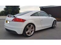 2010 AUDI TT S LINE QUATTRO TFSI SPECIAL EDT IN IBIS WHITE LOW MILES £9795 ONO