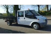 2008 FORD TRANSIT100 T350L TWIN-WHEEL CREW CAB TIPPER
