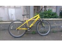 Reflex Sumarai mountain bike with front suspension