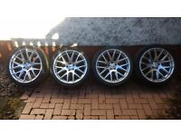 "19"" Zito 935 alloy wheels with tyres - vw/Audi/seat/Skoda fitment"