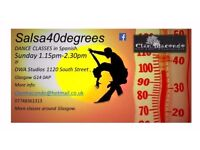 SALSA DANCE CLASS - Salsa40degrees