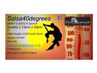 SALSA DANCE CLASS - Salsa40degrees