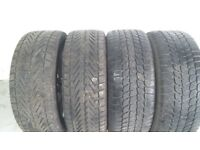 Vauxhall Astra J Model Alloy Wheels & Winter Tyres Set of 4
