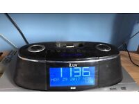 iLuv iPod alarm clock/dock speakers