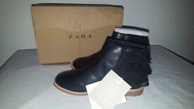 Zarah KIDS Botin Volante Black Ankle boot EUR 27 UK 10