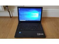 Like New Lenovo B50-50 15.6 Inch Intel Core i5-5200U 4GB 500GB + 8GB SSD DVD-RW Windows 10 Laptop