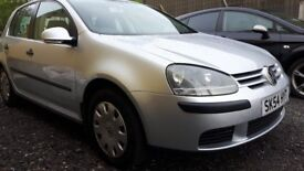 VW GOLF MK5 1.4 FSI S 5DR,, ONLY 61K MILES, FSH,,GREAT RUNNER