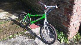 monty x lite trials bike