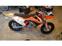 2018 ktm 50sx brand new never used