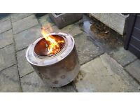 Fire Pit/Wood Burner /Barbecue /Planter .Free delivery within 10 miles of Burnley 3 Available