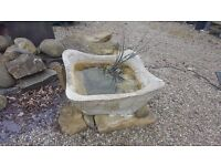 Large Simulated Stone Trough