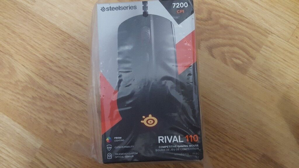 Steelseries rival 110 mouse + QCK + Mousemat Brand new (Still avaliable)