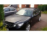 SAAB 93 TTiD Very Clean, Cream Leather, Cruise Control, Rare Aero Model, Not High Mileage Old Smoker