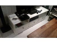IKEA Liatorp White TV Unit (Used) Good Condition