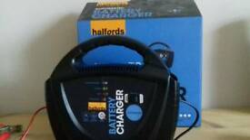Car Motorbike Battery Charger Halfords 12V Batteries