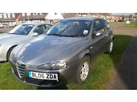 Alfa Romeo 147 T SPARK LUSSO full service history with long mot timing belt water pump done