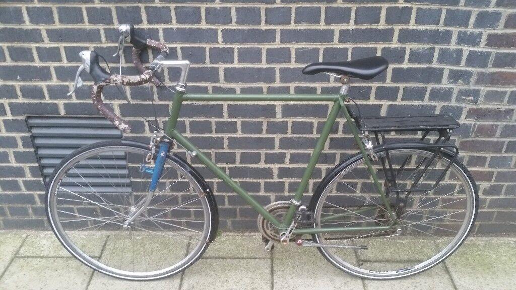 Classic 12 Speed Dutch Road Bike Size 63(CM)/25 Inch/6ft+ | in ...