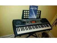 Yamaha PSR-280 Keyboard and Stand