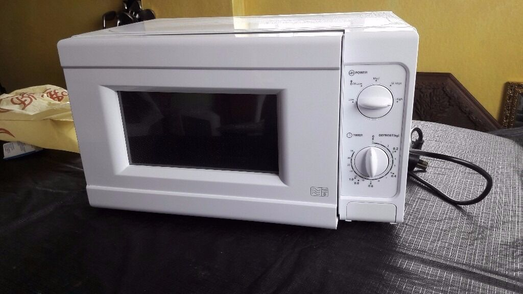 Argos Simple Value Mm717cnf Standard Microwave White