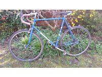 Eddie Merckx and Dawes Galaxy; 2 vintage, steel frame road bikes approx 1980s
