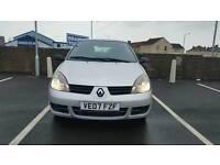 Renault clio 1.2 2007 9month mot ceap car quick sale