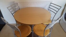 Bistro Table with 4 Chairs