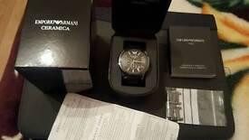 Genuine Emporio Armani Ceramica watch