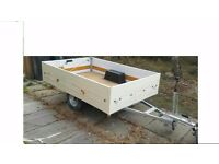 trailer for sale 7 x 4 good solid easy to tow see full details