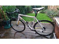 Boardman Comp Road Bike medium 56cm Carbon Forks