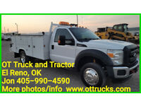 2014 Ford F-550 11ft Mechanics Lube Welder Service Bed 6.8L Gas