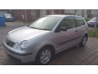 2005 VOLKSWAGEN POLO 1.2 TWIST, ONLY 60K, GOOD HISTORY, ALLOYS, ELECTRIC WINDOWS AND FULL MOT!