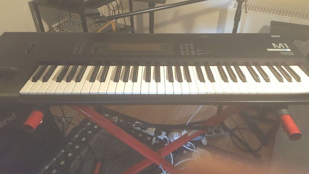 Korg M1 with stand and manual | in Derby, Derbyshire | Gumtree