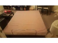 Cheap double bed frame and mattress for sell available delivery.