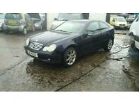 03 Mercedes coupe diesel MAY PART EXCHANGE