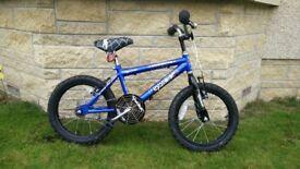 """12"""" blue spider bike"""