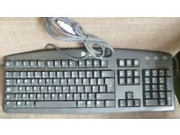 DELL RT7D20 Wired Keyboard Only