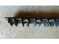 21 x 1 meter water underfloor heating clip rail