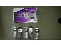 Binatone cordless phone handsets and chargers