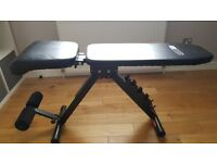 Adjustable Pro Fitness weight bench incline decline flat